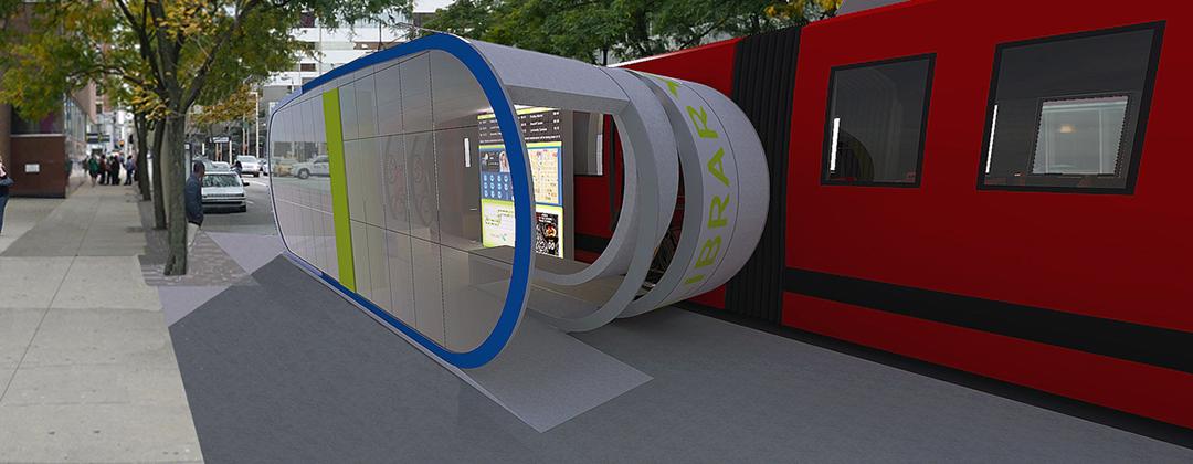 Cincinnati Conceptual Transit Stop