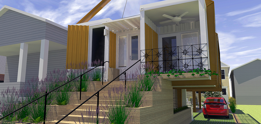 21st Century Shotgun – NOLA LEED Home